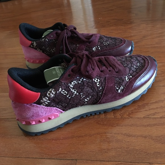 4f5a2db8150d5 Valentino Garavani Shoes | Valentino Limited Edition Rockrunner Lace ...